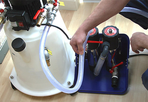 Power flushing equipment