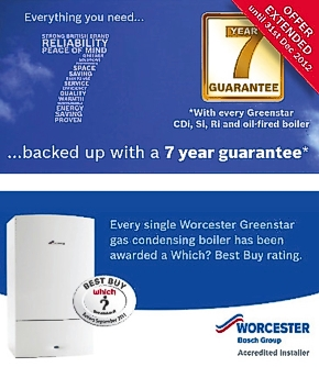 Accredited Worcester Boiler Engineers